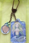 Make Waves Mermaid Key Chain